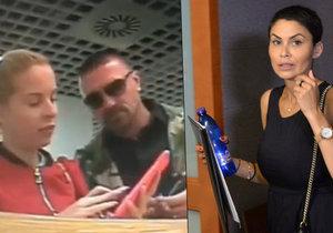 Takhle Kristelová a Řepka platili v bance za pornoinzerát, který hanil Erbovou
