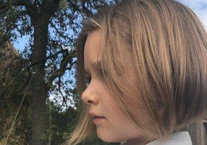 Harper Beckham a její nový účes