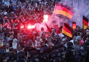 Krajní pravice v Německu (ilustrační foto)