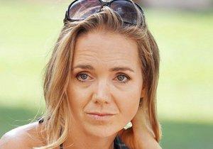 Lucie Vondráčková na charitativní akci