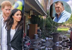 Další černá ovce rodiny? Strýc vévodkyně Meghan je samozvaný biskup a žije obklopen odpadky!