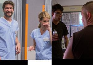 Výměnu manželek na Nově rozmetl lékařský seriál Modrý kód.