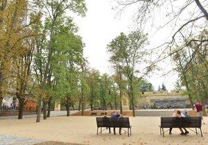 O přízeň se uchází také revitalizace parku na Petříně.