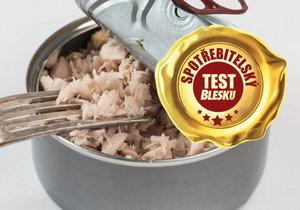 Velký spotřebitelský test tuňákových konzerv!