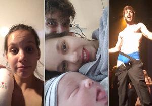 Míša Tomešová 2 týdny po porodu: Návrat do divadla! Syna bere s sebou.