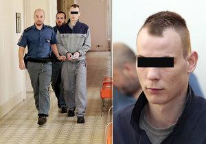 Jiří M. je souzený za znásilnění a pokus o vraždu.