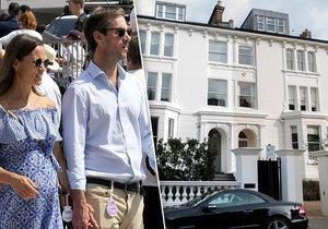 Manévry těhotné Pippy: Luxusní sídlo s manželem přestavili za 34 milionů!