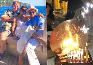 Narozeninové překvapení: Elton John zpíval Romeu Beckhamovi