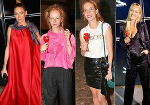 Týden módy v Praze začal a hemžil se celebritami.