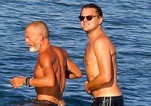 Leonardo DiCaprio s izraelským podnikatelem Avivem Nevou