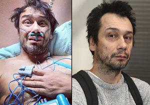 Herec Pavel Liška skončil v nemocnici na kapačkách.