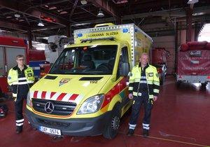 Nové uniformy pražských záchranářů