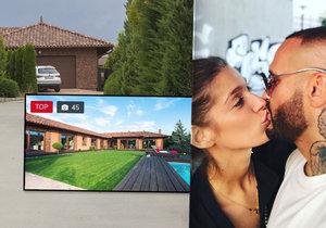 Rytmus koupil své lásce nový dům.