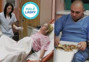 Tatínek v Malých láskách šokuje: Do porodnice si objedná pizzu!