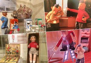 Podzimní expozice Chvalského zámku jsou věnovány Patu a Matovi, respektive hračkám našich prababiček i pradědečků.