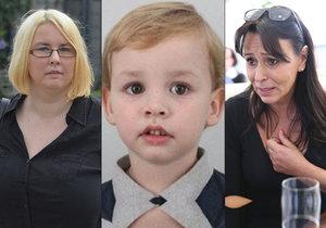 Heidi Janků dál pátrá po zmizelém Tomáškovi (4). Chlapcovu matku (vlevo) policie našla, syna u sebe ale neměla.