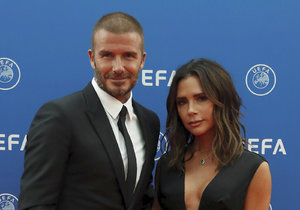 Manželé David a Victoria Beckhamovi