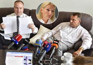 Paroubkův přítel Michek označil ženu expremiéra za zlatokopku. Zmizelé peníze se budou řešit při rozvodu