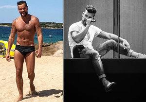 Ricky Martin do Prahy přiveze bombastickou show, manžela i děti. Adrenalin bude proudit, vzkazuje fanouškům.