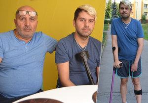 Invalidní Láďa (36) v Jirkově narazil. Město mu nechtělo přidělit lepší byt, ale Blesk byl na jeho straně.
