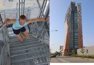 AZ Tower je s výškou 111 metrů nejvyšší obytnou budovou České republiky.