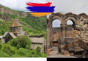 Arménie je úchvatná.