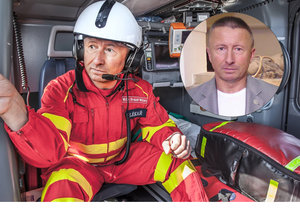 Poslanec - záchranář: Lékař Milan Brázdil pracuje ve Sněmovně, o víkendech pak pro olomouckou záchranu