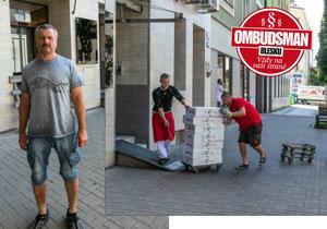 Úpravna masa ve vnitrobloku pražských domů bere obyvatelům spaní