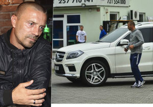Tomáš Řepka měl prodat mercedes, který nebyl jeho. Podle ženy, které ho prodal, zinkasoval milion a pak dělal mrtvého brouka.