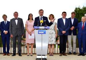 Občanská demokratická strana (ODS) zahájila 10. září 2018 v Praze horkou fázi kampaně před nadcházejícími komunálními a senátními volbami.