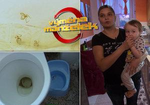 Nechutná Výměna manželek: Znečištěný záchod, pavučiny a zažraná špína!