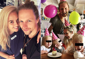 Tamara Klusová si postěžovala, že všechny její děti mají geny jen po otci Tomáši Klusovi.