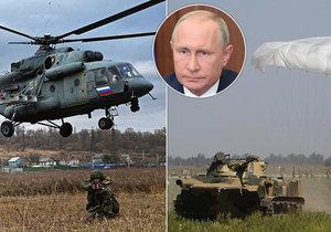 Na východě Ruska začaly mohutné vojenské manévry, ke cvičení se přidá také Čína a Mongolsko. Přihlížet bude také Putin.