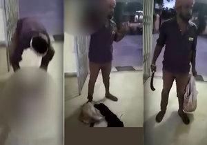 Muž usekl hlavu manželce a přinesl ji na policejní stanici.