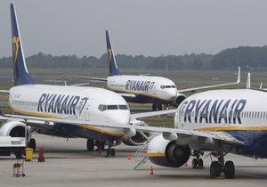 Piloti letecké společnost Ryanair v Německu stávkují, došlo ke zrušení 150 letů (12.9. 2018).