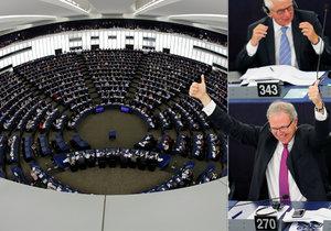 Facebook s Googlem v europarlamentu ostrouhali. Poslanci se přiklonili na stranu autorů a vydavatelů. Zpravodaj Axel Voss mluví o malém zázraku