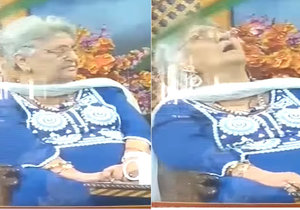 Rita Jitendra (†81) zemřela v živém vysílání. Smrt si sama předpověděla.