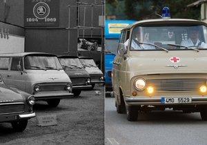Slavná dodávka Škoda 1203, přezdívaná »dvanáctsettroska«, byla přesně před 50 lety představena na Mezinárodním strojírenském veletrhu v Brně.
