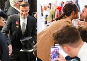 Krize manželů Beckhamových definitivně zažehnána? Victoria prý čeká páté dítě!
