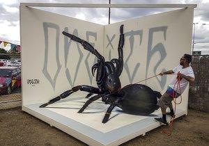 Obrazy, před kterými nejspíš strachy utečete: 3D graffiti jsou jako živé!