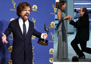 Překvapení na cenách Emmy: Žádost o ruku a »prohra» Hry o trůny!