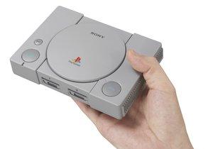 Zmenšená konzole PlayStation Classic