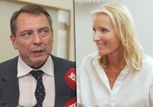 Paroubek o rozhodnutí soudu, kam nepřišel: Petra mě pomlouvá!