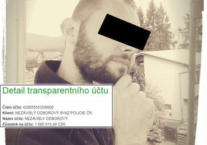 Policista Jakub zemřel ve službě, kolegové vyhlásili sbírku: Na účtě už je přes milion.