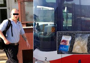 Policisté v Holešovicích narazili na zfetovaného řidiče MHD.