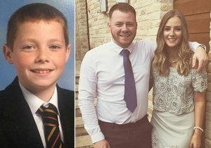 Matthew Campbell zemřel po pádu stromu
