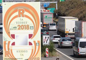 Elektronické dálniční známky by mohly platit od roku 2021. Kontrolovat by je měly kamery v terénu i celní správa