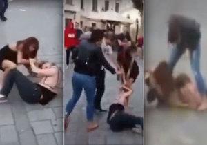 Dvě dívky se popraly v Bratislavě