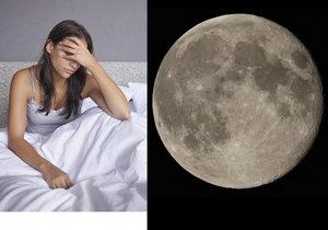 Spánek nepřichází? Možná za to může úplněk!