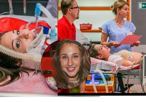 Natálka Grossová v nemocnici na přístrojích: Zasáhl ji elektrický proud!